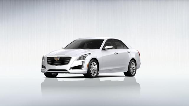 Certified Crystal White 2015 Cadillac Cts Sedan For Sale In Valencia