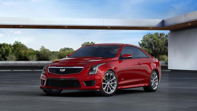 Used Red Obsession Tintcoat 2016 Cadillac Ats V Coupe For Sale In