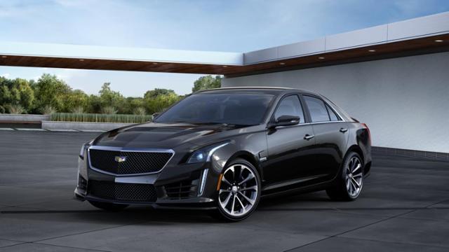 Abilene Stellar Black Metallic 2016 Cadillac CTS-V Sedan: Used Car ...