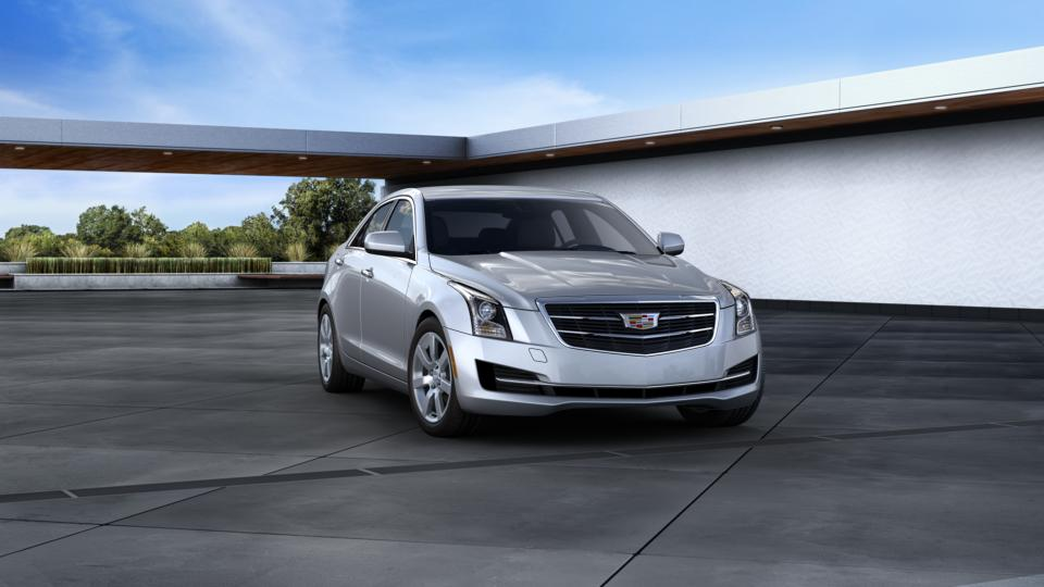 aurora radiant silver metallic 2016 cadillac ats sedan used car for sale l27132. Black Bedroom Furniture Sets. Home Design Ideas