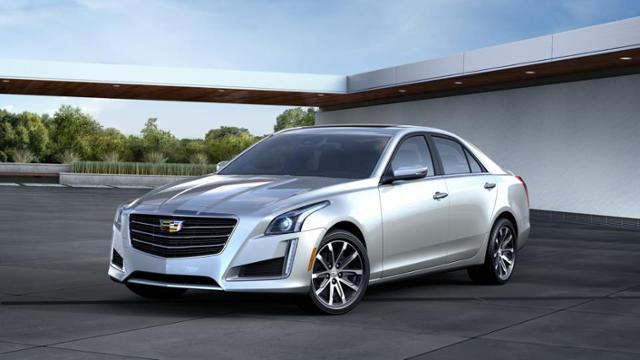 2016 Cadillac Cts Sedan Vehicle Photo In Palmer Ma 01069