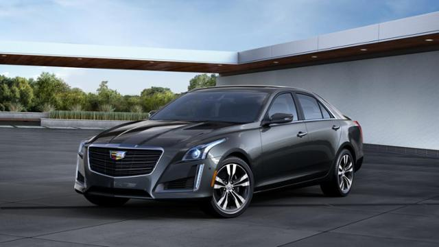2016 Cadillac CTS Sedan Vehicle Photo in Victorville, CA 92392