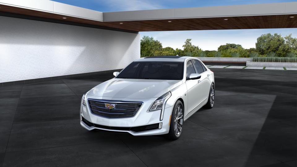 New 2016 Crystal White Tricoat Cadillac Ct6 Sedan 4dr Sdn