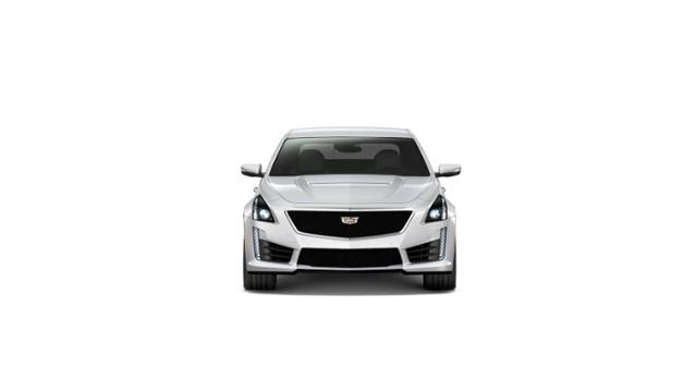 Columbia Crystal White Tricoat 2019 Cadillac Cts V Sedan New Car