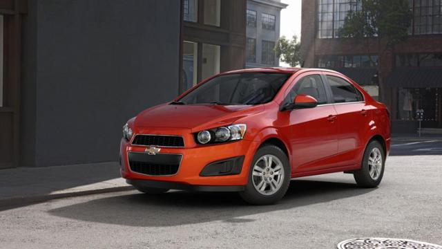 Get The Chevrolet Sonic In Coolidge Near Casa Grande