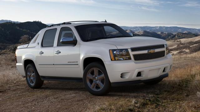 2013 chevrolet avalanche manual