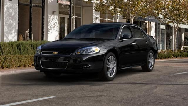 Glenwood Black 2013 Chevrolet Impala Used Car For Sale 190692b