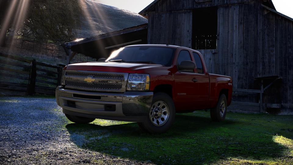 2013 Chevrolet Silverado 1500 Vehicle Photo in Ellwood City, PA 16117