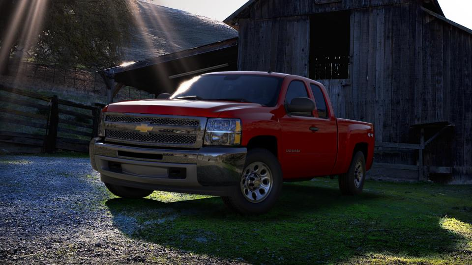 2013 Chevrolet Silverado 1500 Vehicle Photo in Chelsea, MI 48118