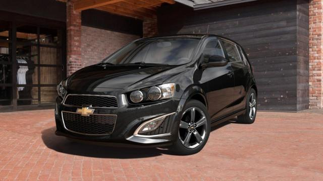 chevy sonic 2014 manual