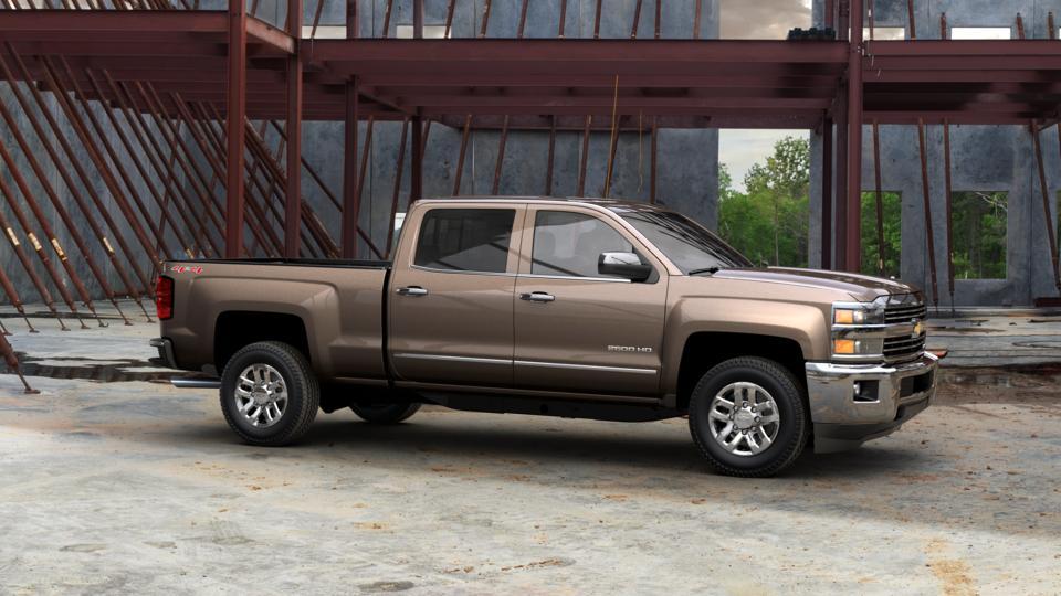 Brownstone Metallic 2015 Chevrolet Silverado 2500HD Built ...