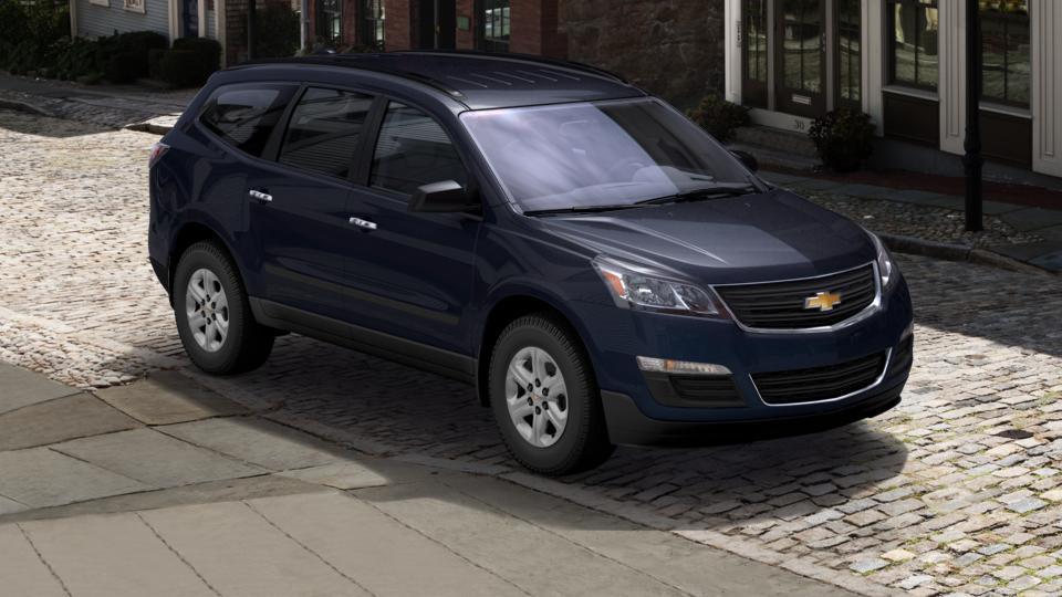 Used 2016 Blue Velvet Metallic Chevrolet Traverse Ls For