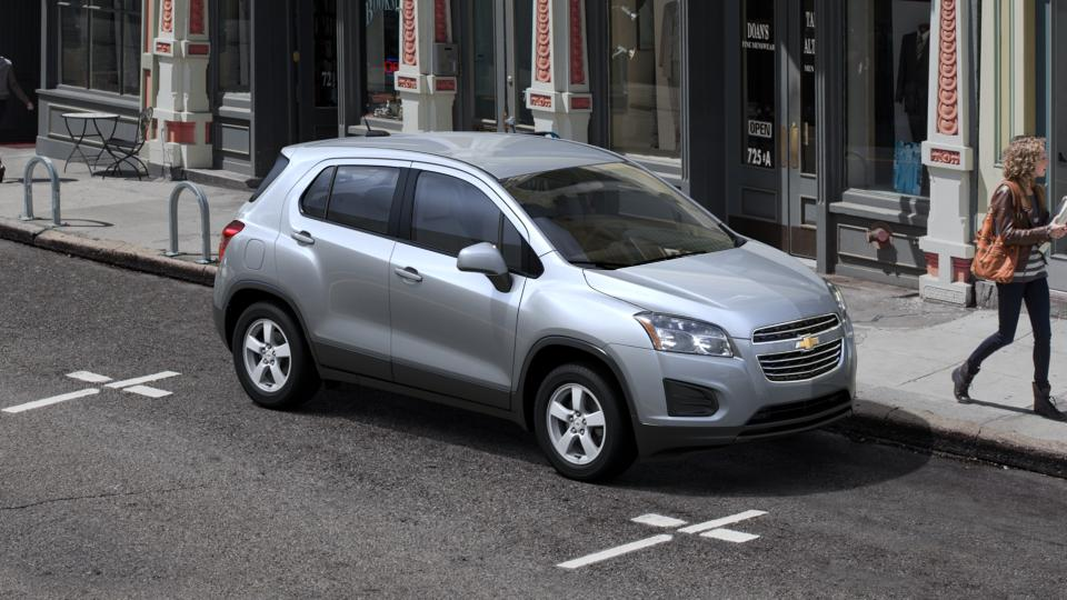 silver ice metallic 2016 chevrolet trax ls for sale at. Black Bedroom Furniture Sets. Home Design Ideas
