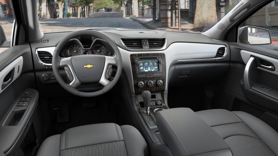 used summit white 2016 chevrolet traverse lt for sale in brandon ms rogers dabbs chevrolet. Black Bedroom Furniture Sets. Home Design Ideas