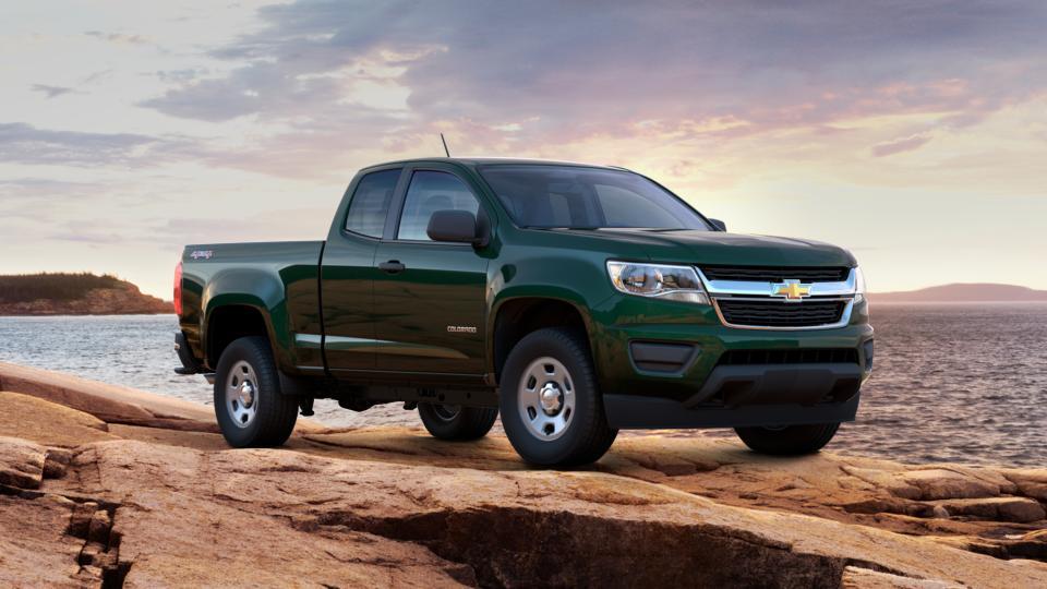 Certified Rainforest Green Metallic 2016 Chevrolet Colorado Extended Cab Long Box 4-Wheel Drive ...