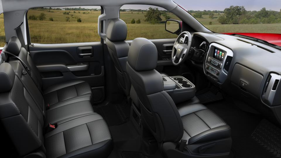 Used Truck 2016 Black Chevrolet Silverado 1500 Lt For Sale