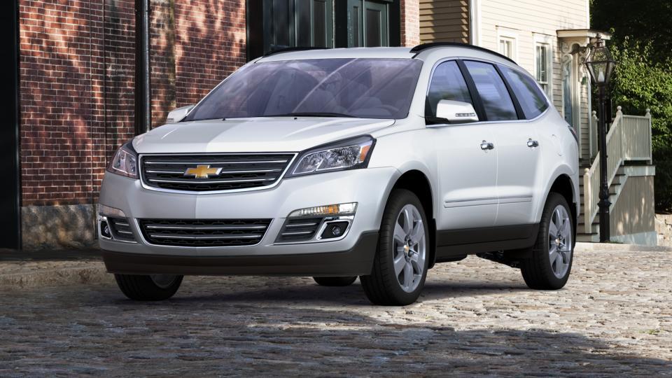 Abilene Summit White 2017 Chevrolet Traverse Certified