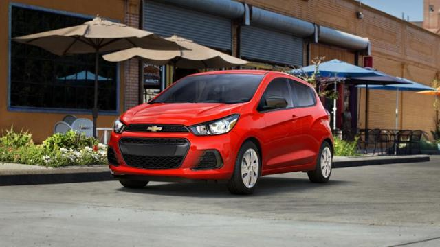 Monroe Red 2017 Chevrolet Spark Used Car For Sale C1704971