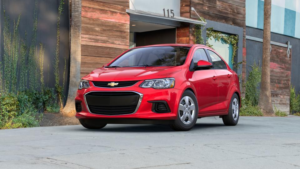 2017 Chevrolet Sonic Vehicle Photo in Plainfield, IL 60586-5132
