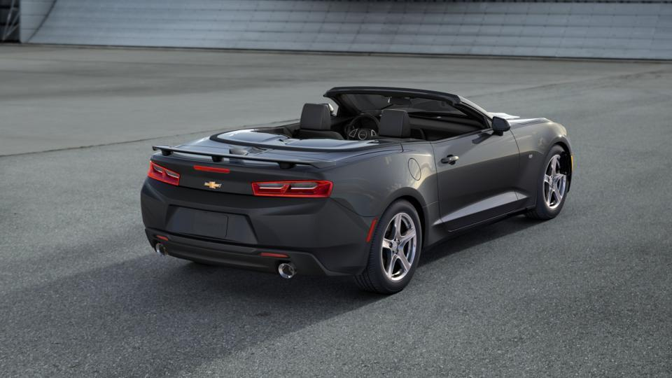 New 2017 G7q Nightfall Gray Chevrolet Camaro 2dr Conv 2lt