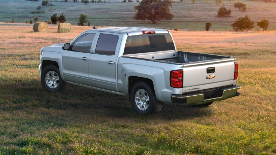 certified silver ice metallic 2017 chevrolet silverado 1500 crew cab short box 2 wheel drive lt. Black Bedroom Furniture Sets. Home Design Ideas