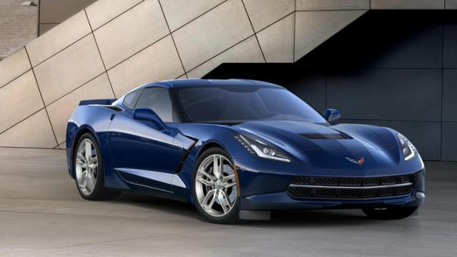 2017 New Chevrolet Corvette Stingray Coupe Z51 3LT 2dr Car For Sale ...