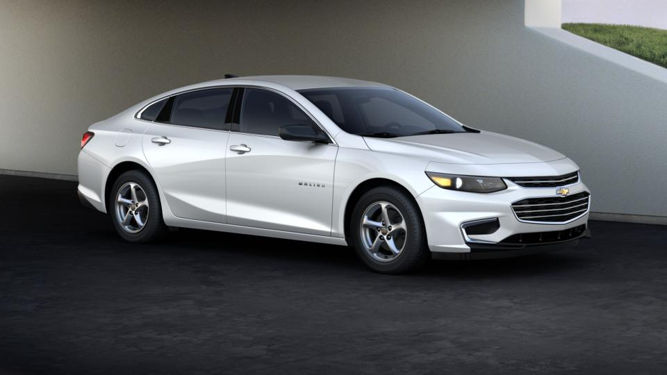 used 2017 summit white chevrolet malibu 4dr sdn ls w 1ls. Black Bedroom Furniture Sets. Home Design Ideas