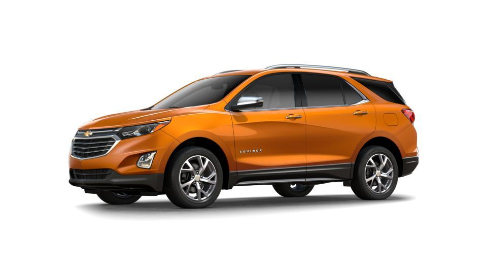 New 2018 Orange Burst Metallic Chevrolet Equinox Fwd