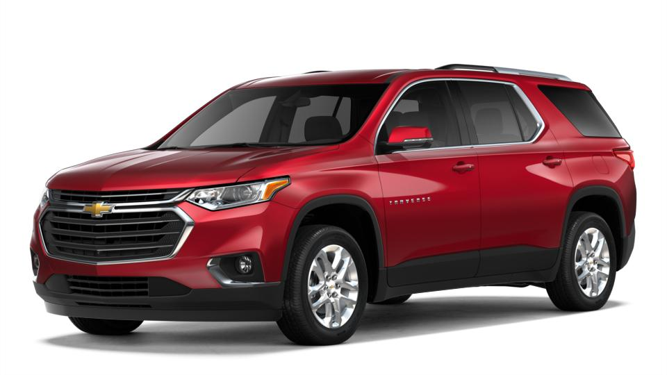 2018 Red Chevrolet Traverse for Sale at Charles Boyd Chevrolet Buick GMC