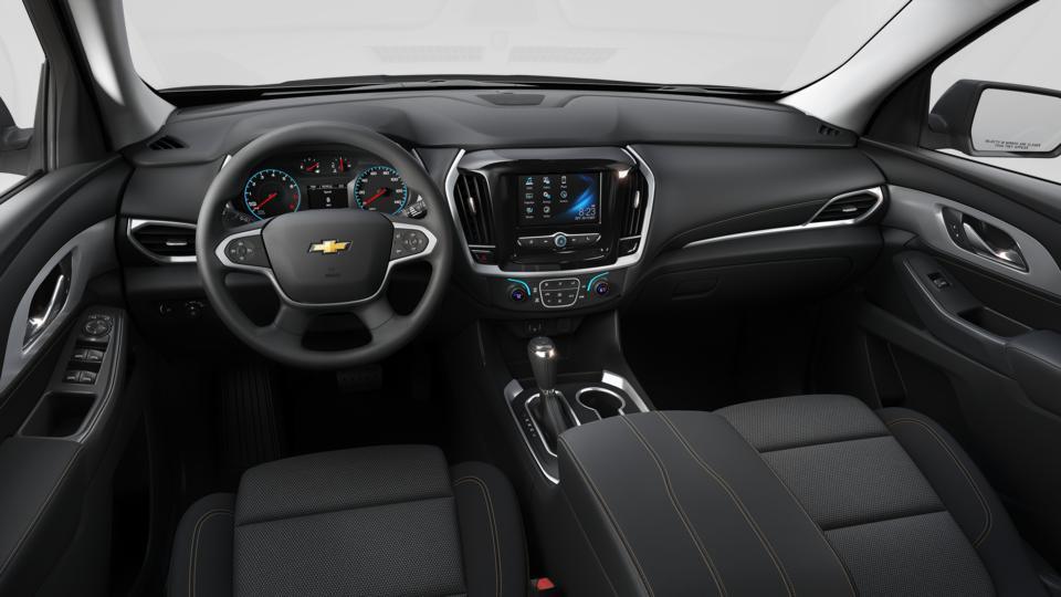 New 2018 Mosaic Black Metallic Chevrolet Traverse AWD 1LS ...