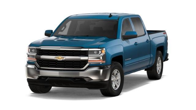 Blue 2018 Chevrolet Silverado 1500 Lt For Sale Near Great Bend