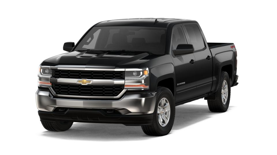 New 2018 Chevrolet Silverado 1500 Crew Cab Short Box 4-Wheel Drive LT All Star Edition black exteri