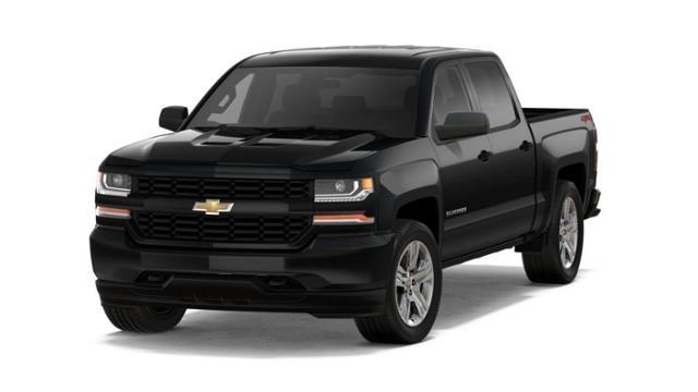 Medford Chevrolet Silverado 1500 >> Medford Black 2018 Chevrolet Silverado 1500 New Truck Cs2015