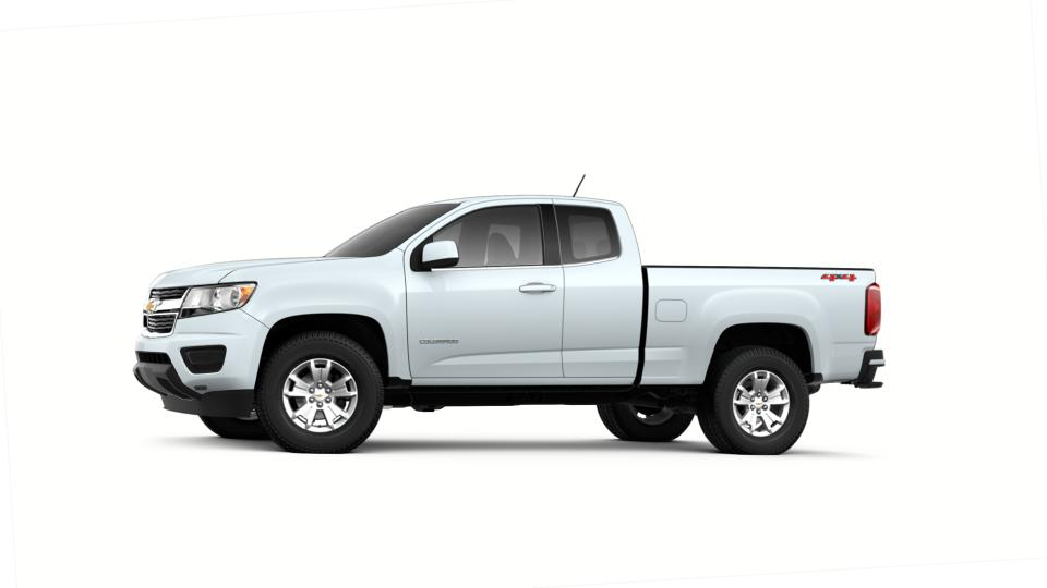 New 2018 Summit White Chevrolet Colorado Extended Cab Long ...