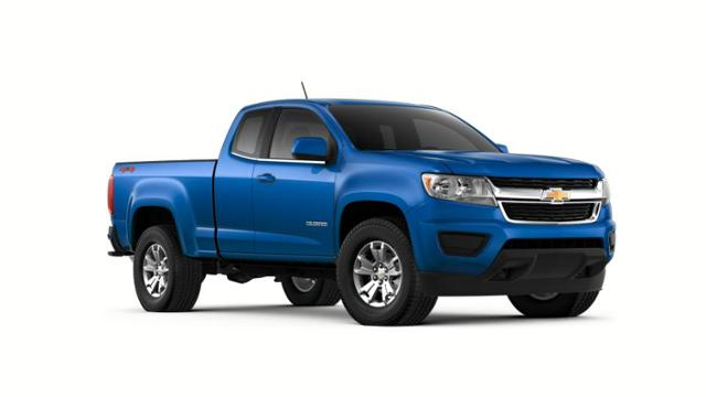 Blue Metallic 2018 Chevrolet Colorado: New Truck for Sale in ...