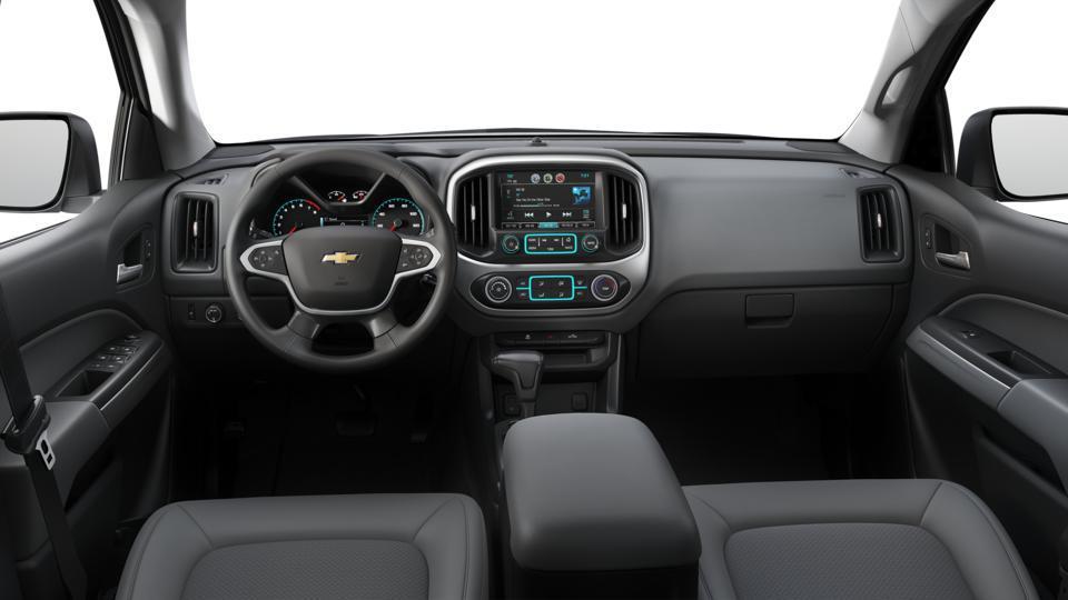 New 2018 Silver Ice Metallic Chevrolet Colorado Crew Cab ...