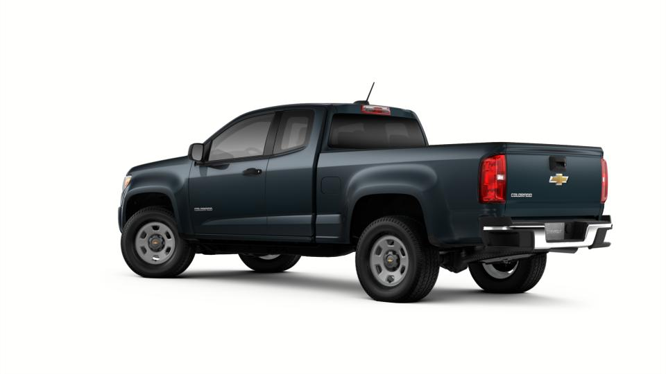 new graphite metallic 2018 chevrolet colorado extended cab long box 2 wheel drive wt for sale in. Black Bedroom Furniture Sets. Home Design Ideas