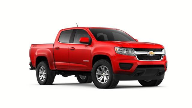 New 2018 Red Chevrolet Colorado Crew Cab Short Box 4-Wheel ... 48879cea8b8