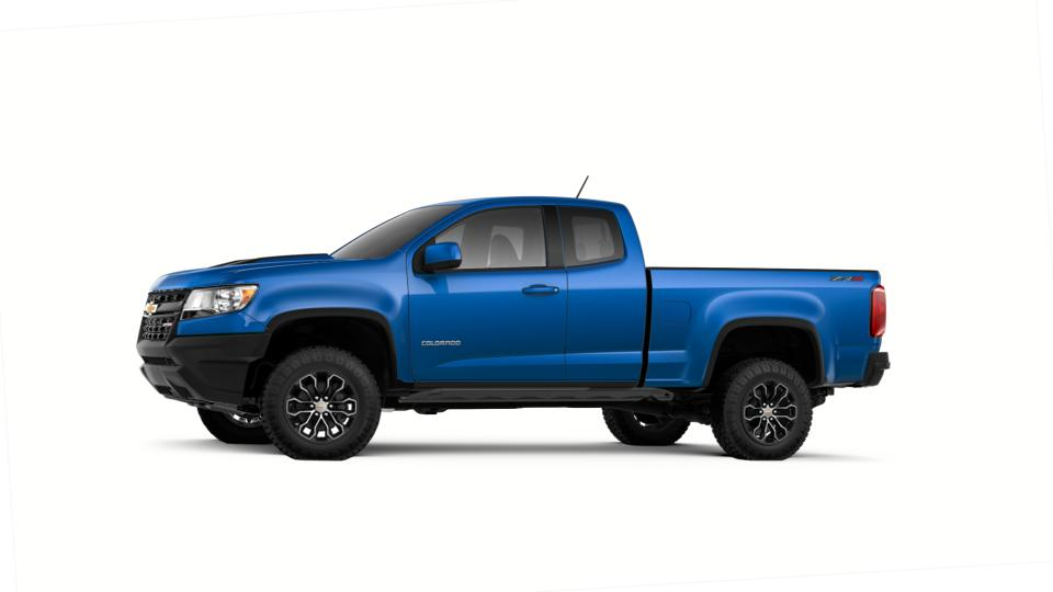 Chevy Colorado Accessories >> New 2018 Kinetic Blue Metallic Chevrolet Colorado Extended Cab Long Box 4-Wheel Drive ZR2 For ...