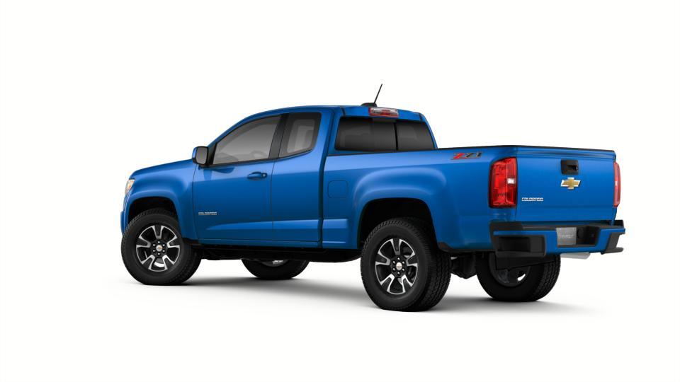 new truck 2018 kinetic blue metallic chevrolet colorado extended cab long box 4 wheel drive z71. Black Bedroom Furniture Sets. Home Design Ideas