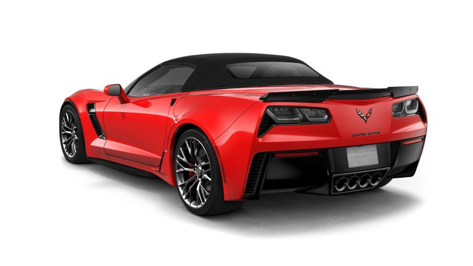 New Torch Red 2019 Chevrolet Corvette Convertible Z06 2LZ ...