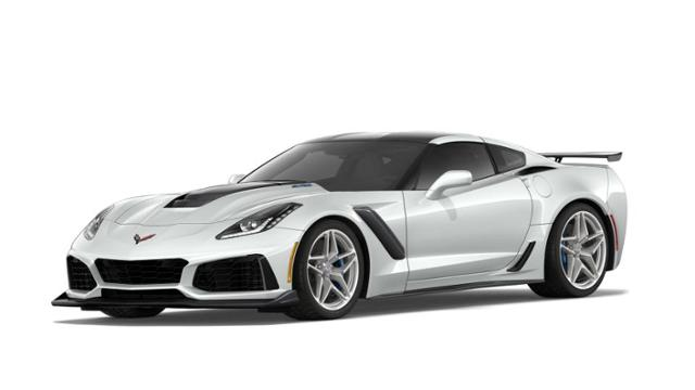 2019 White Corvette Gedonas