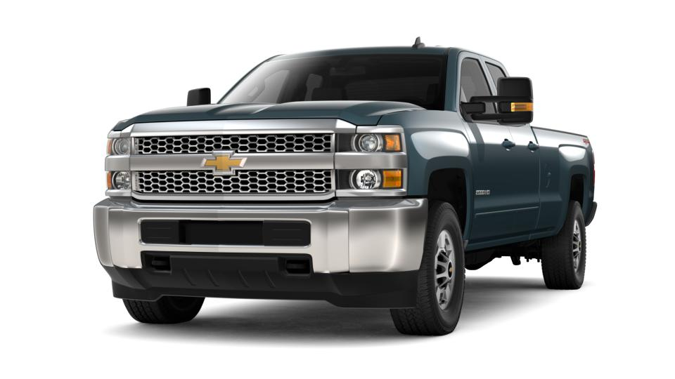 New 2019 Chevrolet Silverado 2500HD Double Cab Long Box 4-Wheel Drive LT graphite metallic exterior