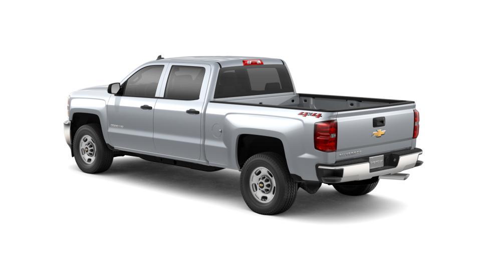 new truck 2019 silver ice metallic chevrolet silverado 2500hd crew cab standard box 4 wheel. Black Bedroom Furniture Sets. Home Design Ideas