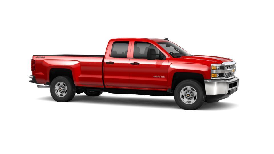 2019 Chevrolet Silverado 2500HD Double Cab Long Box 4-Wheel Drive Work Truck For Sale Richardson ...