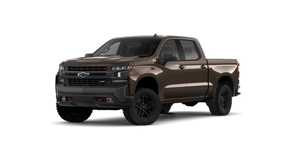 New Havana Brown Metallic 2019 Chevrolet Silverado 1500 Crew Cab Short Box 4-Wheel Drive LT ...