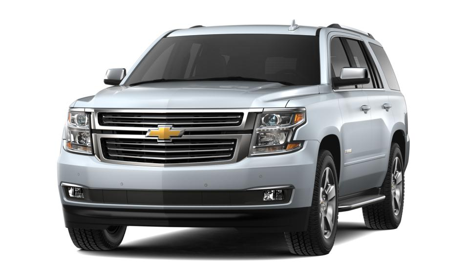 New 2019 Chevrolet Tahoe 4WD Premier silver ice metallic exterior jet black in