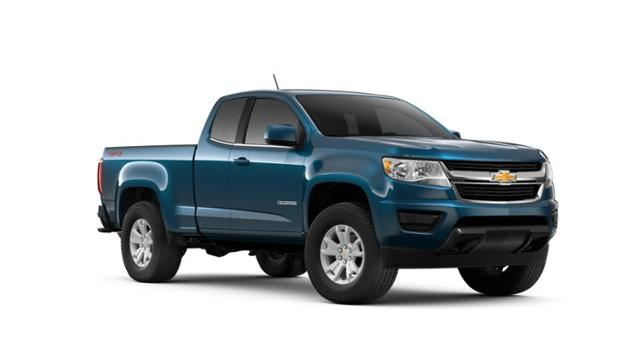 Pacific Blue Metallic 2019 Chevrolet Colorado For Sale At