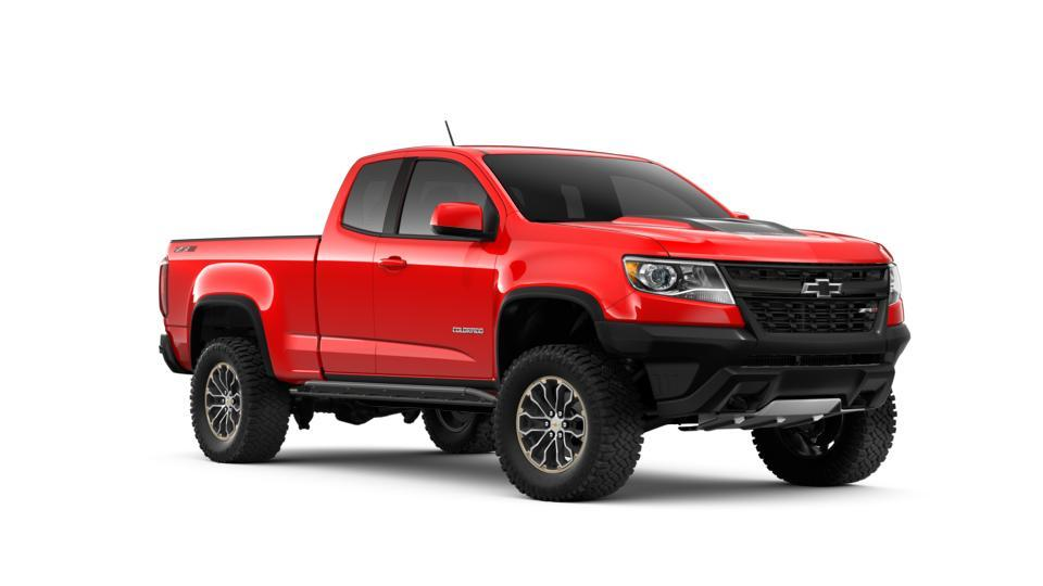 New 2019 Red Hot Chevrolet Colorado Extended Cab Long Box ...