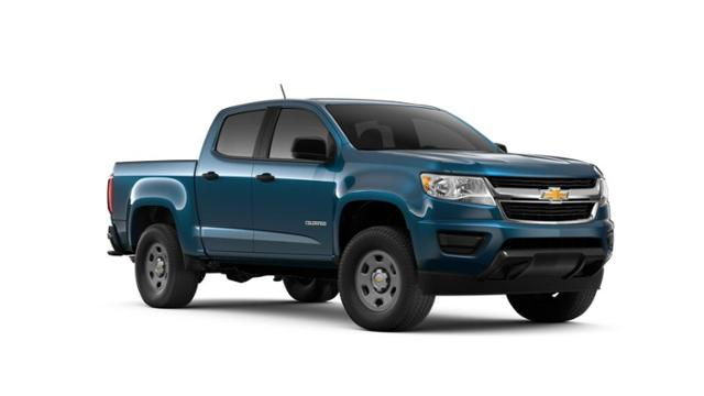 New 2019 Pacific Blue Metallic Chevrolet Colorado For Sale In